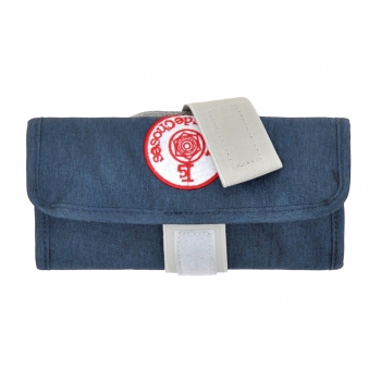 Dark Blue / Grey Pencil Case