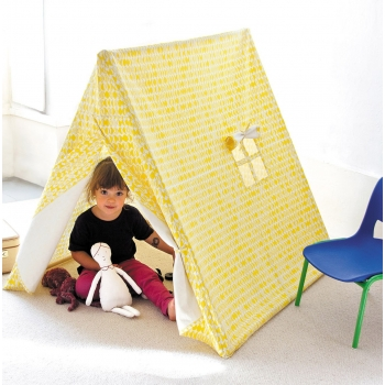 Yellow Kids Tent