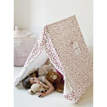 Fuchsia Kids Tent