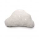 Snowy Cloud Cushion - Light Grey