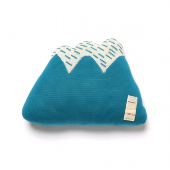 Starry Hill Cushion - Sky Blue