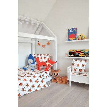 Fox Cotbed Bedding