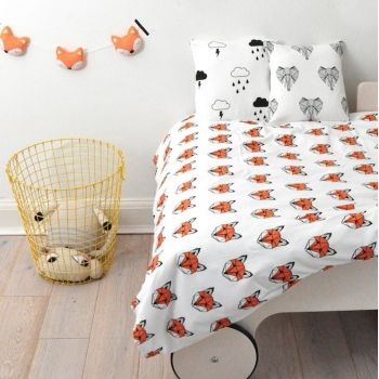 Fox Single Bedding