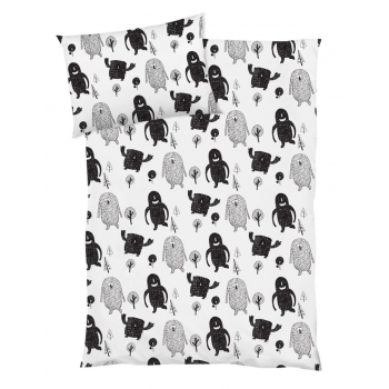 Monster Squad Cotbed Bedding