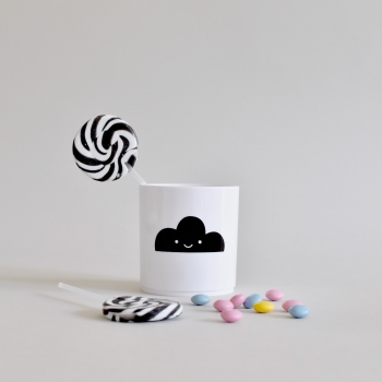Happy Clouds Tumbler - White Edition