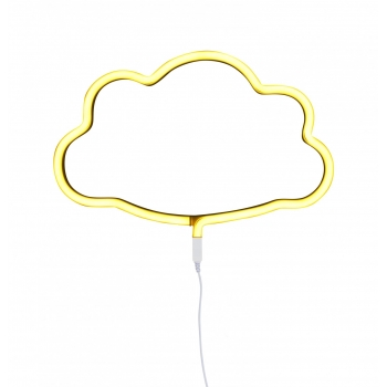 Yellow Cloud Neon Style Light
