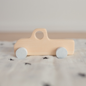 Wooden Pick-up Truck Toy Car