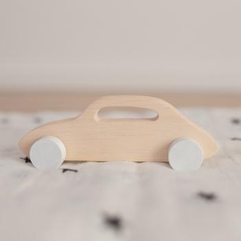 Wooden Citroën Toy Car