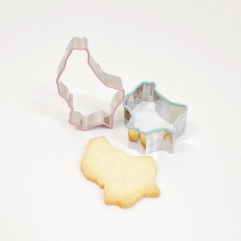Luxembourg Cookie Cutter Light Pink
