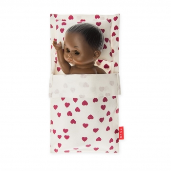 Fuchsia Mini Beddy-Bye Bag for Dolls