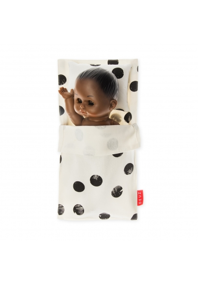 Black Dots Mini Beddy-Bye Bag