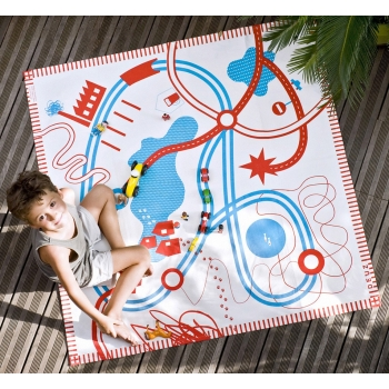 Roads Playmat