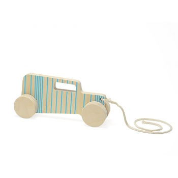 Pull Toy - Hot Rod Sedan - Blue Lines