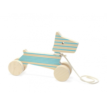 Pull Toy - Enzo the Dog - Blue Lines