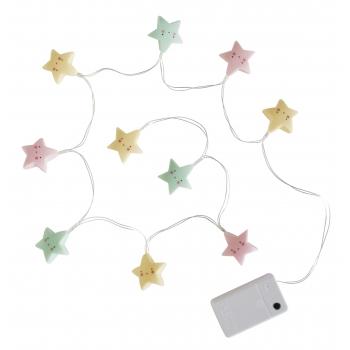 Pastel Stars String Lights