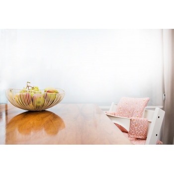 Cushion for Highchair - Pebble Pink