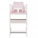 Highchair Cushion - Pink Bows