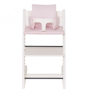 Highchair Cushion - Pink Bows
