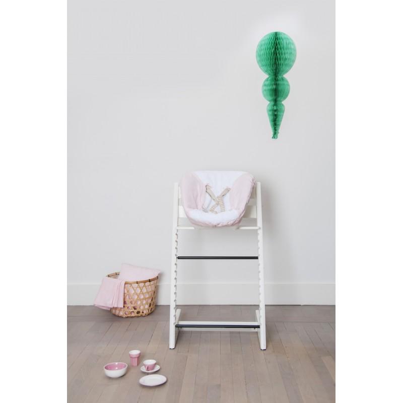 bd15ce6c721b Cover for Highchair Newborn Set - Pink Bows - Les Rêves d Anaïs