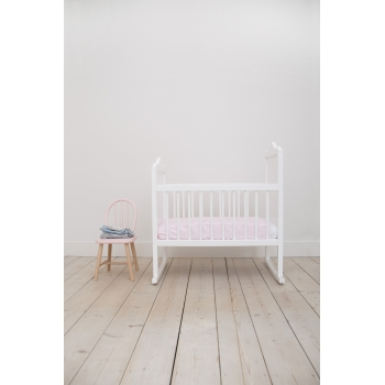 Cot Bedding - Pink Bows