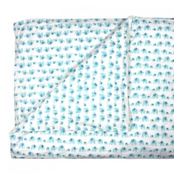 Turquoise Elephant Duvet (Single)
