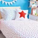 Blue Stars Pillowcover