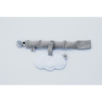 White Cloud Pacifier Holder