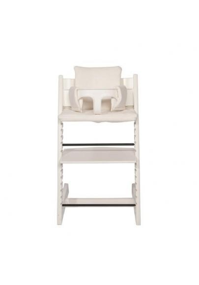 Highchair Cushion - Diamond Ivory