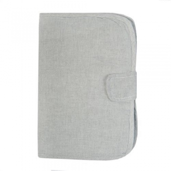 Baby Health Book Cover - Sirene Grey