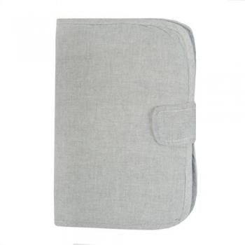 Baby Health Book Cover - Sirene Grey