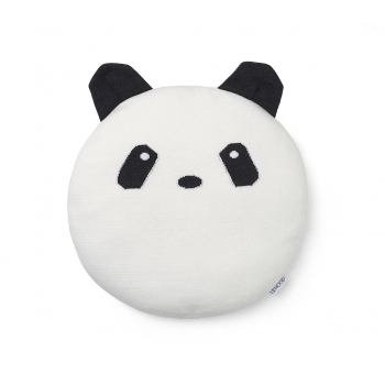 Knit Pillow Kaj - Panda
