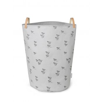 Storage Basket Ann Fabric - Paper Planes