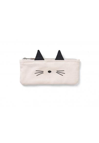 Pencil Case Pelle - Cat