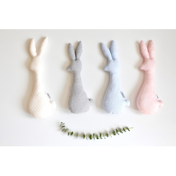 Bunny Rattle - Diamond Ivory