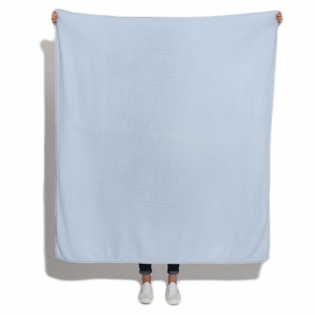 Powder Blue Luxury Scarf Swaddle