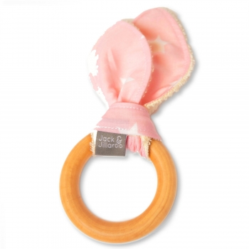 Pink Pearl Pop Teether