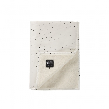 Soft Teddy Blanket - Adorable Dots