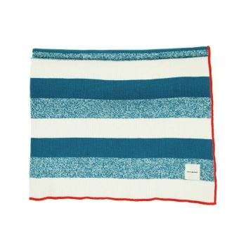 Blue Striped Blanket