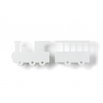 White Train Shelf