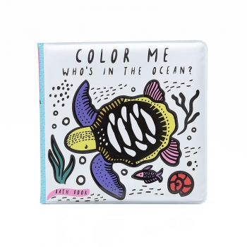 Color Me: Who's in the Ocean Bath Book
