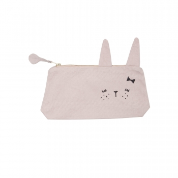 Cute Bunny Animal Pencil Case