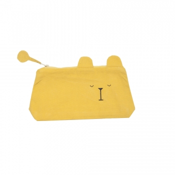 Lazy Bear Animal Pencil Case