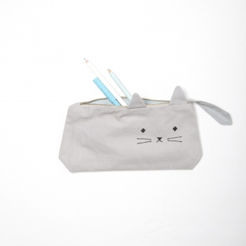 Cuddly Cat Animal Pencil Case