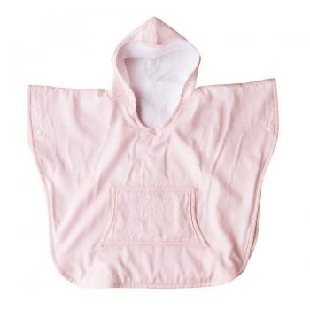 Poncho - Pink Bows