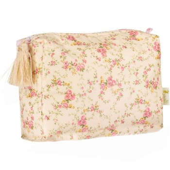 Floral Rose Toilet Pouch