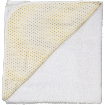 Golden Stars Hooded Bathing Towel
