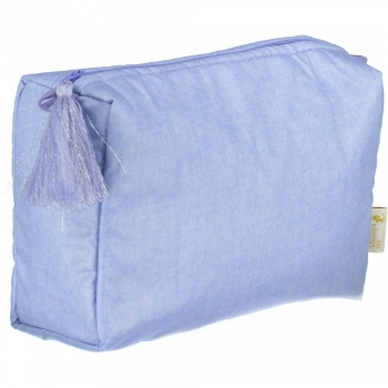Chambray Toilet Pouch