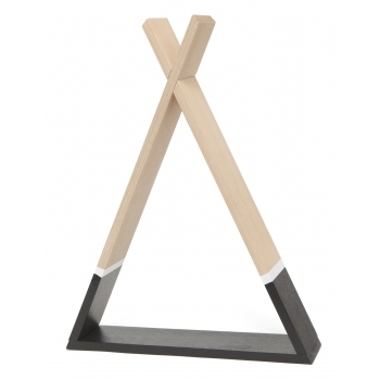 Black Tipi Shelf