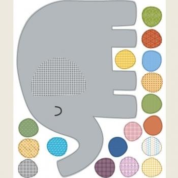 Elephant & Dot Stickers
