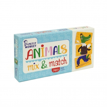 Animals Mix & Match Game